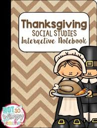 thanksgiving interactive notebook by not so wimpy tpt