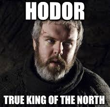 King Of The North Meme - bro caps therapy