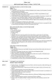 resume accounting manager strategic accounts manager resume samples velvet jobs