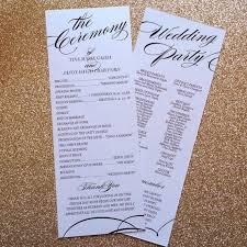 unique wedding programs best 25 unique wedding programs ideas on ceremony unique