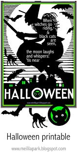 Free Printable Halloween Quote Print Ausdruckbares