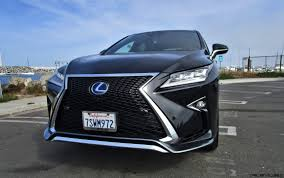 lexus 2017 2017 lexus rx450h f sport road test review by ben lewis