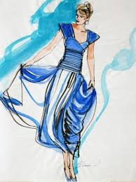 12 best art dress drawings images on pinterest fashion