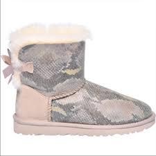 ugg mini bailey bow on sale 38 ugg shoes ugg mini bailey bow snakeskin printed boot