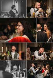 an elegant wedding with nods to halloween sloans glasgow jo