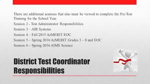 session 1 achievement testing pre test training ppt download