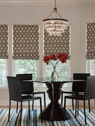 Ochre Pear Chandelier Relaxed Shades Dining Room Contemporary With Glass