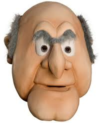 muppets halloween costumes the muppets statler mask halloween costume mask