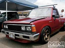 old nissan truck models fs ft 1986 nissan 720 stanced daily show truck look 562519