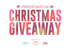 12 days of giveaway free 2017 overlays