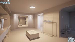 fitting room progress update 1 virtualnovelstudio on patreon