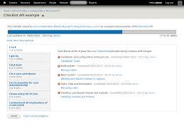 checklist api drupal org