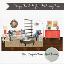 Gray And Turquoise Living Room Interior Design Mood Board Bright Colors Living Room Coral Navy