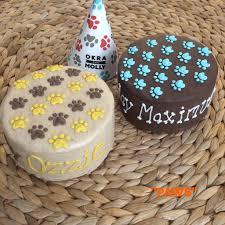 dog birthday cakes u2013 okra u0026 molly