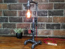 pipe table lamp diy best inspiration for table lamp