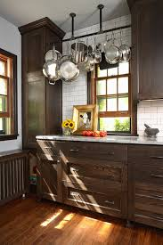 Kitchen With Brown Cabinets Interior Design Inspiration Photos By Fiddlehead Design Group