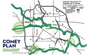 bayou map houston parks board explore the bayou greenways