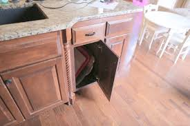 kitchen bin ideas diy pull out trash and recyling bin hometalk