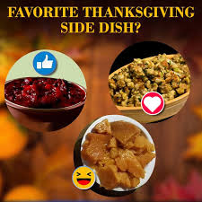 what is your favorite thanksgiving side fox 5 fox5ny