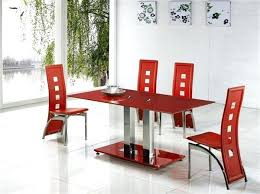 glass top dining table set 6 chairs glass dining table 6 chairs blogdelfreelance com