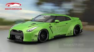 nissan gtr model car ck modelcars video nissan gt r r35 lb performance grün gt spirit