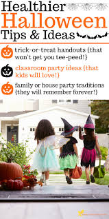 healthy halloween tips and ideas healthier trick or treating