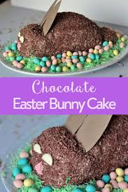 easter bunny cake ideas chocolate easter bunny cake lactose free the inspired home