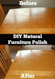 how to clean wood table with vinegar homemade furniture polish remove scuff marks and water marks