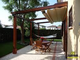 Modern Retractable Awning Pergola Design Ideas Pergola With Retractable Awning Roof Shadefx