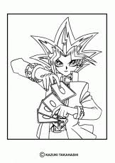 yugioh 1 coloring pages u0026 coloring book coloring