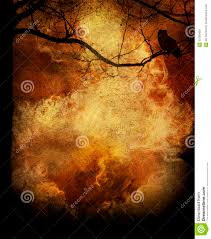 halloween owl background tree fire grunge background stock photo image 30783480