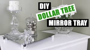 Vanity Trays For Perfume Diy Dollar Tree Glam Mirror Riser Tray Z Gallerie Inspired Diy