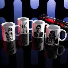 star wars ceramic coffee mugs for sale luke skywalker boba fett