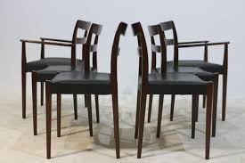 vintage garmi dining chairs and armchairs by nils jonsson for
