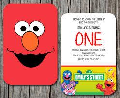 sesame street birthday invitations printable ajordanscart com