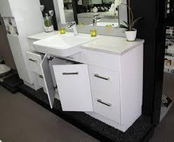 Bathroom Sinks With Vanity Units by Custom Vanity Unit 1500mm Stone Top Semi Recessed Basin U2013 Bathroom