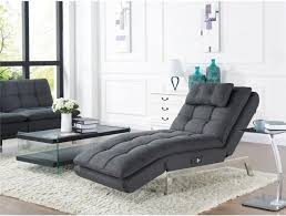 Gray Chaise Lounge Relax A Lounger Hermes Convertible Chaise Lounge In Charcoal Grey