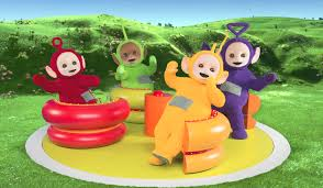 hold teletubbies vice
