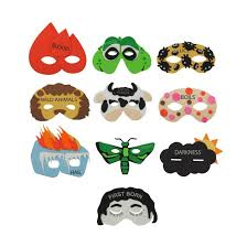 passover plague masks ten plagues masks set
