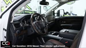 nissan cummins interior 2016 nissan titan xd interior the most complete review part 2