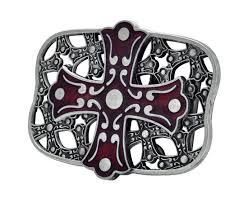 celtic iron cross maltese belt buckle in belts cummerbunds