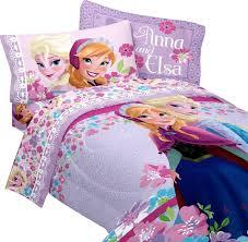 Frozen Bed Set Disney Frozen Blooms Microfiber Comforter