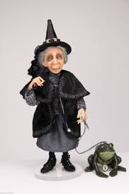 Vintage Kitchen Witch Doll by Olivia Swinging Kitchen Witch Doll Sold Out Kitchens