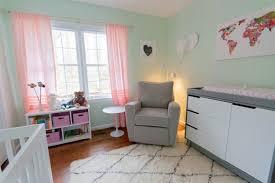 kinderzimmer grau rosa wandfarbe mintgrün für kinder und babyzimmer 50 ideen
