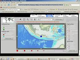 earthquake jogja catatannya the echo earthquake locator mapping interface