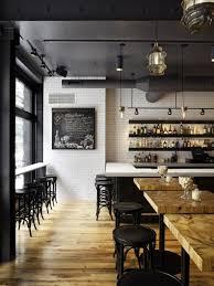 wood floor black shelves downstairs kitchen pinterest black