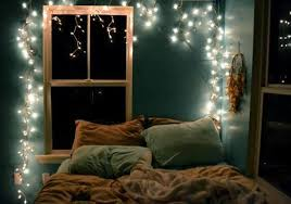 blue string lights for bedroom blue wall color for appealing teen bedroom ideas with elegant white