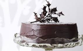 rich chocolate fruit cake recipe food to love