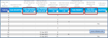 project planner template project schedule u0026 timeline in excel
