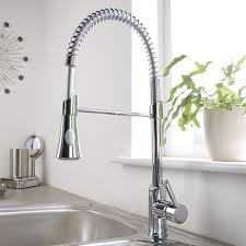 kitchen faucet spray chrome pull sprayer kitchen faucet